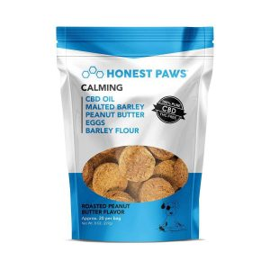Honest Paws CBD Dogs Treats - Peanut Butter Flavor