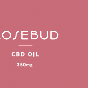rosebud cbd oil label